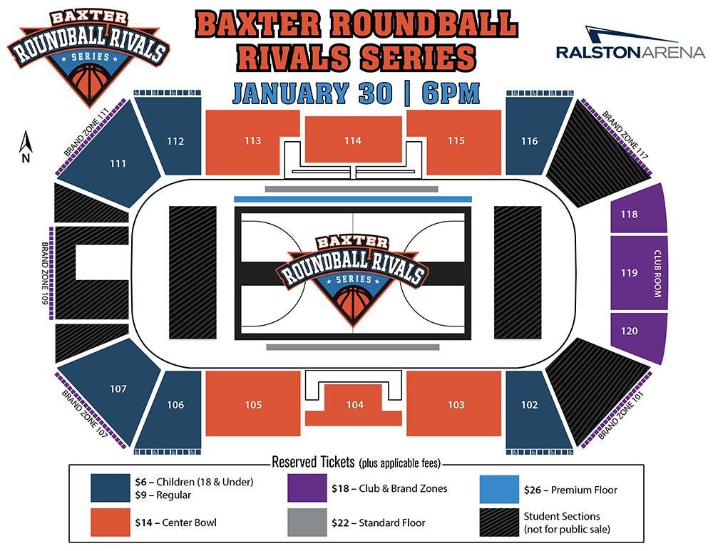 Baxter Auto Omaha >> Baxter Roundball Rivals Series | Ralston Arena